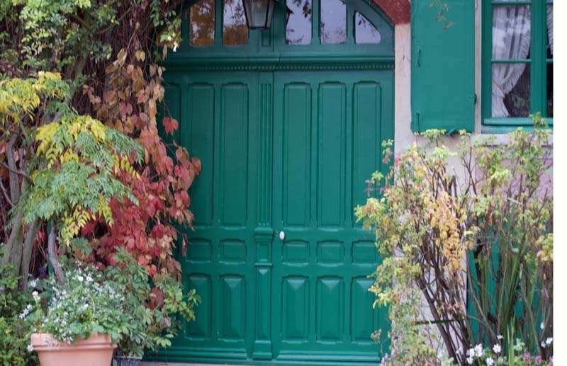 Claude Monet'n lokakuinen puutarha
